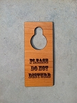 Personalized Do Not Disturb Door Hanger Wood Sign with FREE SHIPPING in US
