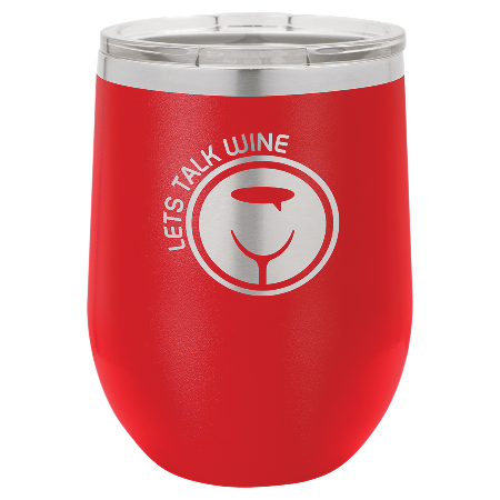 100 Customized Polar Camel 12 oz. Matte Red Vacuum Insulated Stemless Tumbler w/Lid.